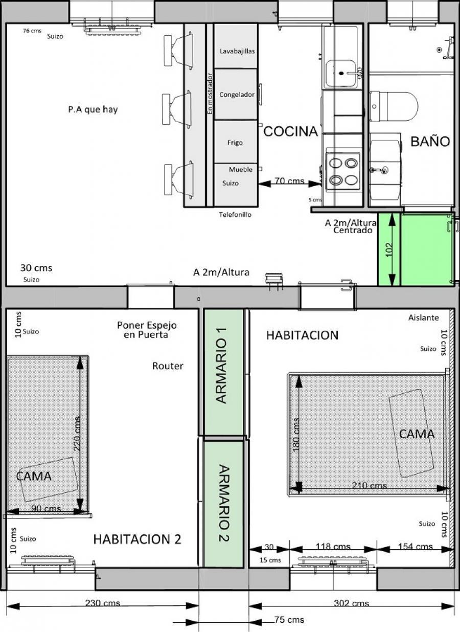 Plano De Un Local Plano De Un Local With Plano De Un Local Ana  # Muebles Xpress Vilanova I La Geltru